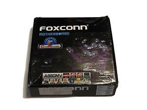 Foxconn A88GMV Socket AM3 DDR3 HDMI DVI VGA PCI-E Motherboard and Backplate