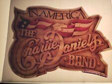 "VINTAGE ""Charlie Daniel's Band"" Transfer in America"