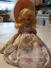 Vintage Nancy Ann Story Book Plastic Doll Sleep Eyes