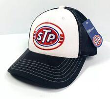 STP Gas / Oil Mesh Trucker Hat / Cap - Black / White