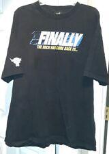 Wrestlemania XXVII 27 Atlanta 2011 Black Men's 2XL T-Shirt The Rock