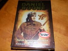 DANIEL BOONE Season One 1 Fess Parker Classic 1960s TV Show Series DVD SET NEW