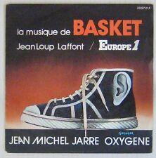 Europe1 45 tours Basket Jean-Michel Jarre 1976