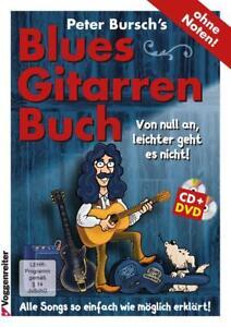 Peter Bursch's BLUES-Gitarrenbuch +CD+DVD ÜBER 100x verkauft  26,95 € *FREIHAUS*