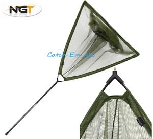 "42"" Carp Fishing Landing Net And Handle Pole Combo Angling Pursuits"