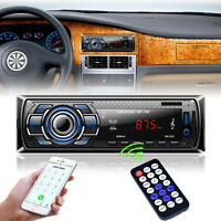 Car Radio Bluetooth Stereo FM DVD CD MP3 Player USB SD AUX Input Dash Head Units