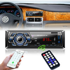 Car Radio Bluetooth Stereo FM DVD CD MP3 Player USB SD AUX Input Dash Head Units