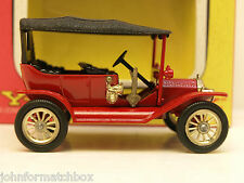 Matchbox Yesteryear Y 1 Ford Model T,issue 6,textured roof,rare.