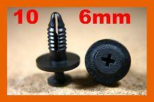 10 Interior door card fascia trim panel plastic screw fastener clips