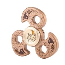 Hand Spinner, Stress Reducer,Eagle Pattern,Three Leaves,Zinc Alloy Material.1pc.