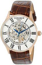 Akribos XXIV Men's AK499RG Bravura Slim Diamond-Accented Watch 5132