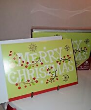 Merry Christmas (16 Christmas Cards & Envelopes) American Greeting