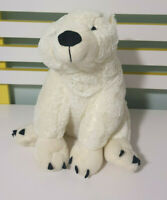 SEAWORLD GOLD COAST AUSTRALIA POLAR BEAR PLUSH TOY SOFT TOY 31CM TALL STUFFED 2