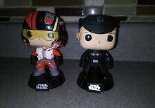 Funko Pop Vinyls Star Wars Poe Dameron Vs. General Hugs I know.Hux