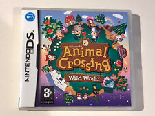 NINTENDO DS *** GAME BOX ONLY *** ANIMAL CROSSING WILD WORLD