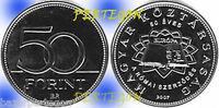 2007 Tratado de Roma  S/C Magyar Hungria 50 forint  - agrupa monedas en un envio