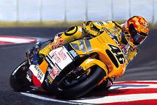 Valentino Rossi Honda NSR Motorbike Motorcycle Racing Art Painting Print