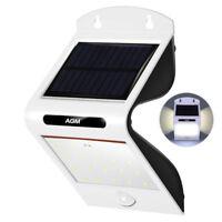 20LED Solarleuchte Wandleuchte Mit Bewegungsmelder Außen Solar Lampe Wasserdicht