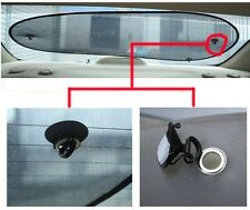 Car Rear Window Sun Shade Blind Suction Cup Front Visor Heat Cover Universal