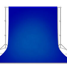 [1 Pc] 6' x 9' Blue Chromakey Photo Backdrop Photography Background Screen New