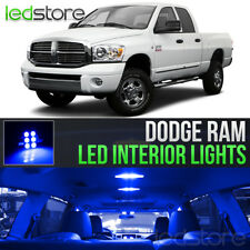 2006-2008 Dodge RAM 1500 2500 3500 Blue Interior LED Lights Kit Package