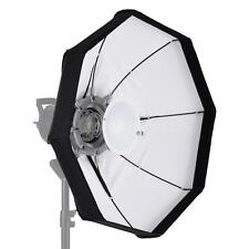 60cm Beauty Dish Foldable Octagon Softbox Bowens Mount for Studio Strobe X0W6