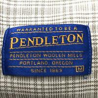 Pendleton Mens Shirt Plaid Long Sleeve Medium Button Front Cotton Cosmetic 2nd