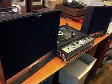 Vintage Portable TOSHIBA GP33F Record Player Radio Phonograph Prop! Collectible!