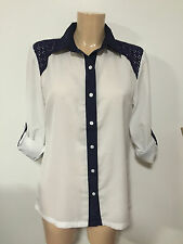 H&M Women's Classic Collared Tops & Shirts