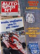 Autosprint n°16 1982 Didier Pironi Imola - Monza Mille Miglia Lancia [P48]