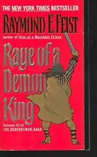 Rage of a Demon King: Book Three of the Serpentwar Saga by Raymond E. Feist