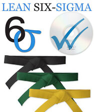 Ultimate Lean Six Sigma CBT Training DVD Pack - Yellow Green Black Belt Training