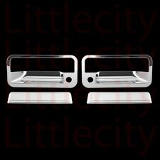 FOR CHEVY C/K PICKUP SUBURBAN CHROME 2 DOOR HANDLE COVERS