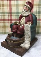 Elfin Glen Figurine  D. A. Snuffer's Santa Day After Christmas December 26