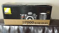 "NEW!! Nikon D7000 Digital SLR Camera w/ 18-140mm VR Lens Kit Black ""New In Box"""
