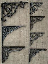 Antique Cast Iron Wall / Shelf Bracket Traditional / Victorian Design x1