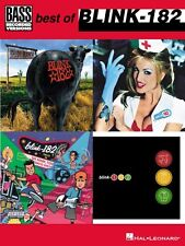 Best of blink-182 for Bass Sheet Music Bass Recorded Versions NEW 000690549