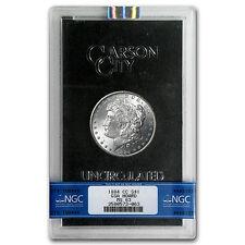 1884-CC Morgan Dollar MS-63 NGC (GSA) - SKU #4690