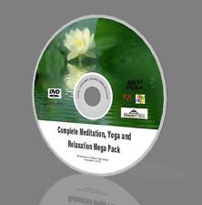 Completare la meditazione, yoga e rilassamento Mega Pack-MP3, guide e altro ancora! DVD