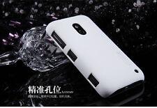 NiLLKIN Coque rigide+ protector ecran pour Nokia Lumia 620 blanc