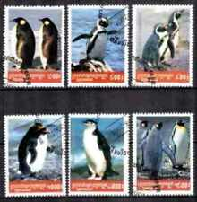 Animaux Faune sauvage Cambodge (15) série complète 6 timbres oblitérés