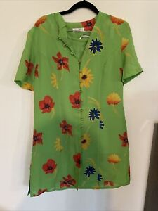 Precis Petite green floral skirt  Suit 14/16