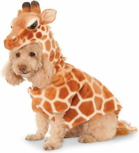 Giraffe Dog Costume - XS - Soft - Hoodie - Halloween - Zoo - NWT