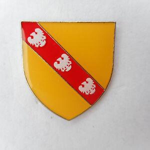 Lorraine Emblem Pin France Coat
