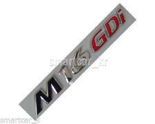 trunk lid M16GDi emblem badge for 2011 2012 2013 2014 Hyundai Elantra