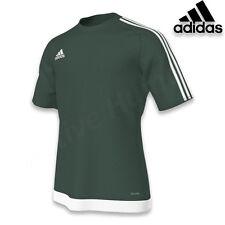 Mens Adidas Estro 15 Climalite Short Sleeve T Shirt Top Football Size S M L XL