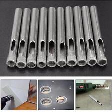 10x 7mm Diamond Holesaw For Tile Glass Slate Porcelain Marble Drill Bits Tool