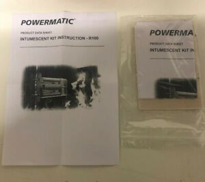 Perko Powermatic R100 Hydraulic Door Closer Intumescent Liner Kit.