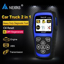 NL102PLUS Diesel Gas Heavy Duty Truck Diagnostic Scanner ABS DPF Oil Reset Tool