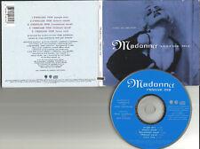 MADONNA Rescue me 5TRX w/RARE MIXES & VOCAL TRX LIMITED USA PRESS CD single 1990